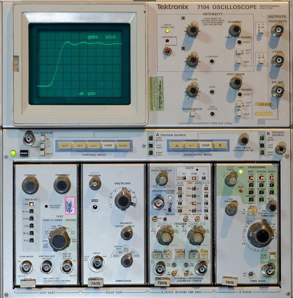 1970s Tektronix Scope