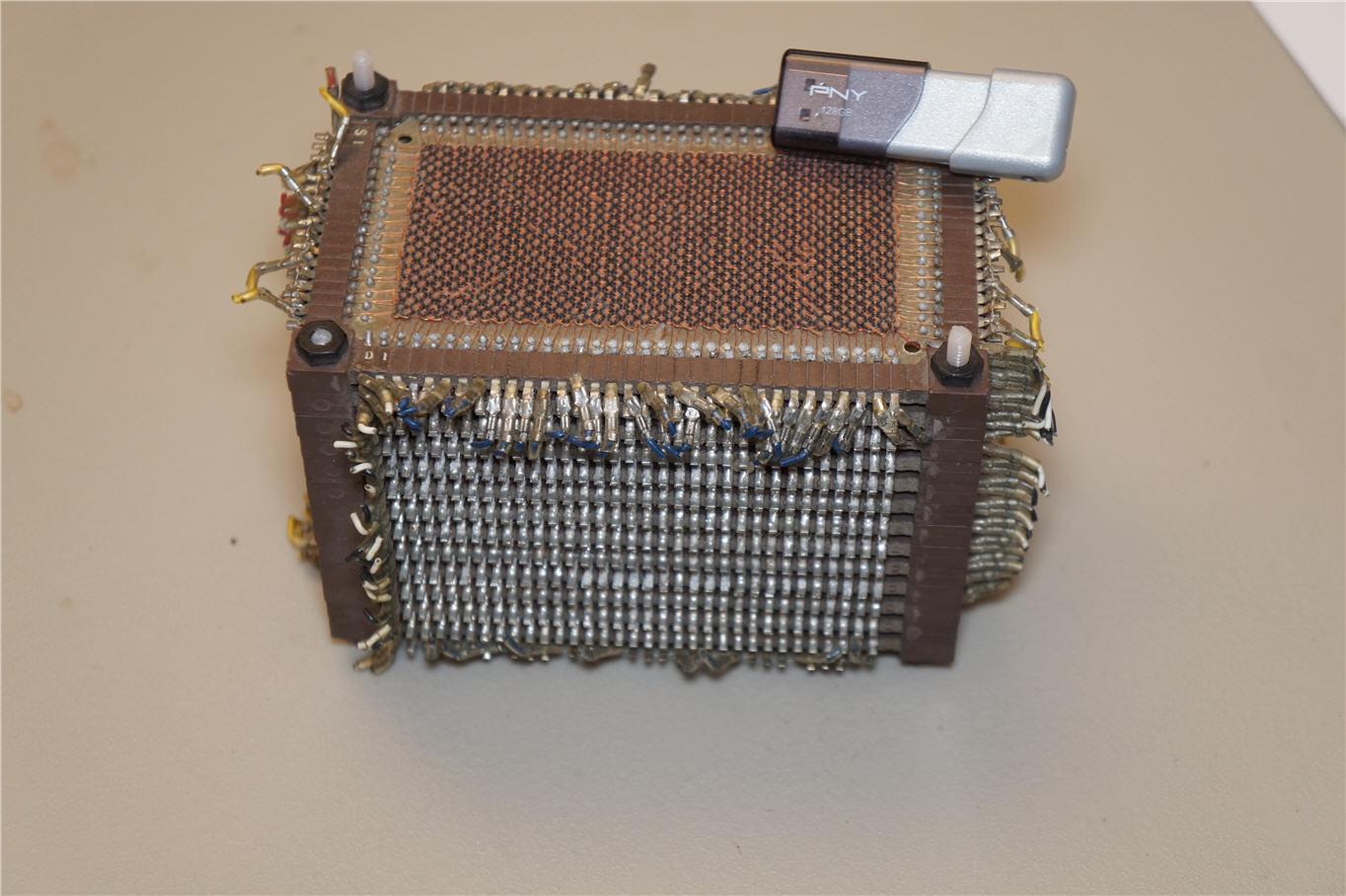 A core memory module - 13k bits