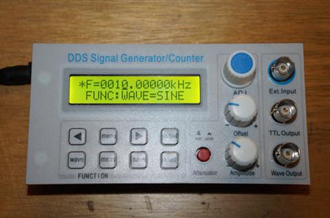 A Cheap DDS Signal Generator