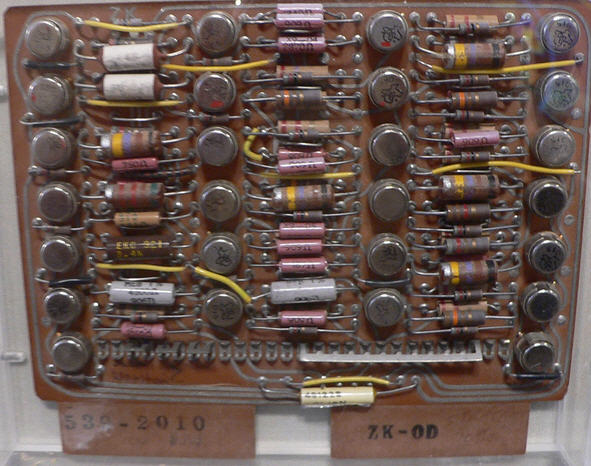 IBM 7030 circuit board