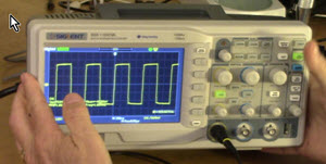 Giving away a bench oscilloscope