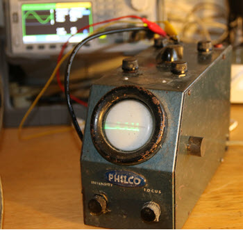 Philco oscilloscope