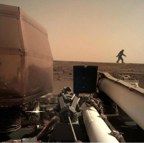 NASA Mars mission with Bigfoot lurking nearby