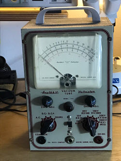 Giveaway -  a 1949 Vacuum tube voltmeter