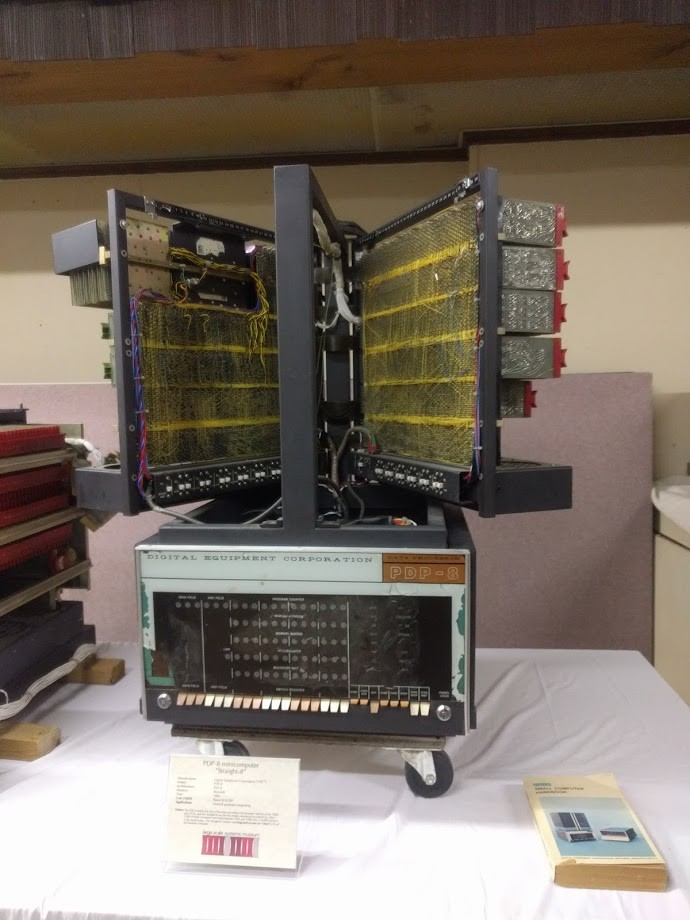 The only transistorized PDP-8