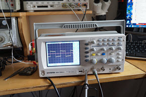 Review of the GDS-1052 oscilloscope