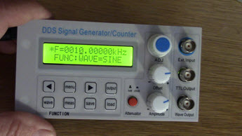 Review of a $50 Chinese signal generator